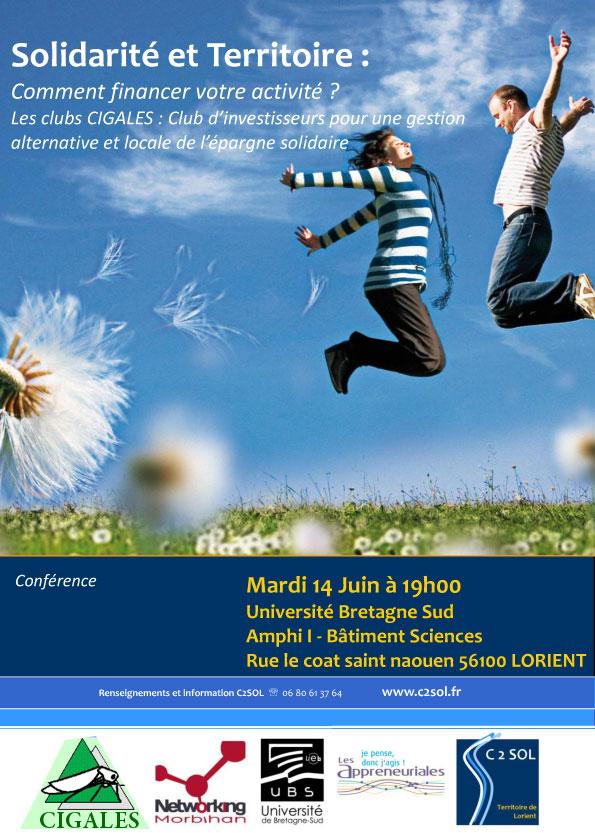 Soirée exceptionnelle NetWorking Morbihan du 14 juin