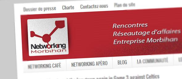 Lancement du site Networking Morbihan, enfin…