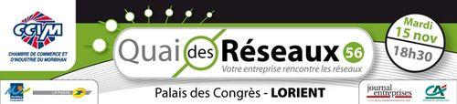 NetWorking Morbihan sera au Quai des Réseaux 2014
