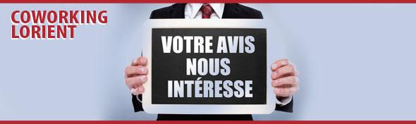 Grande Enquête sur l'opportunité d'un espace Coworking sur Lorient