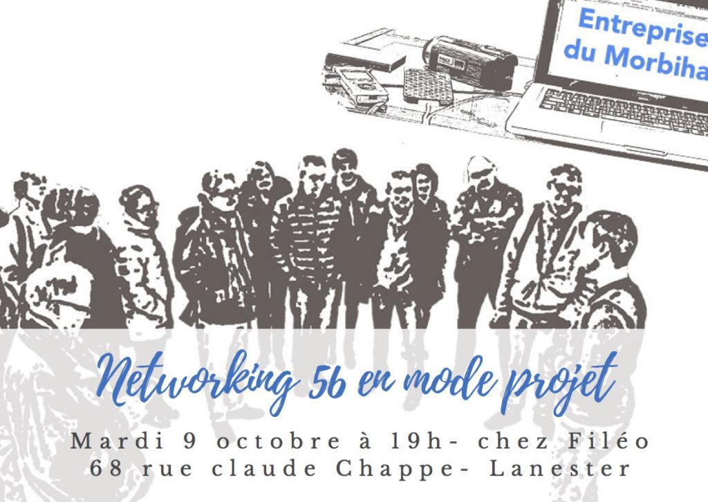 Networking Morbihan en mode projet  le 9 octobre
