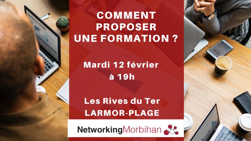 Proposer une offre de formation ! Networking Apéro du 12 février 2019