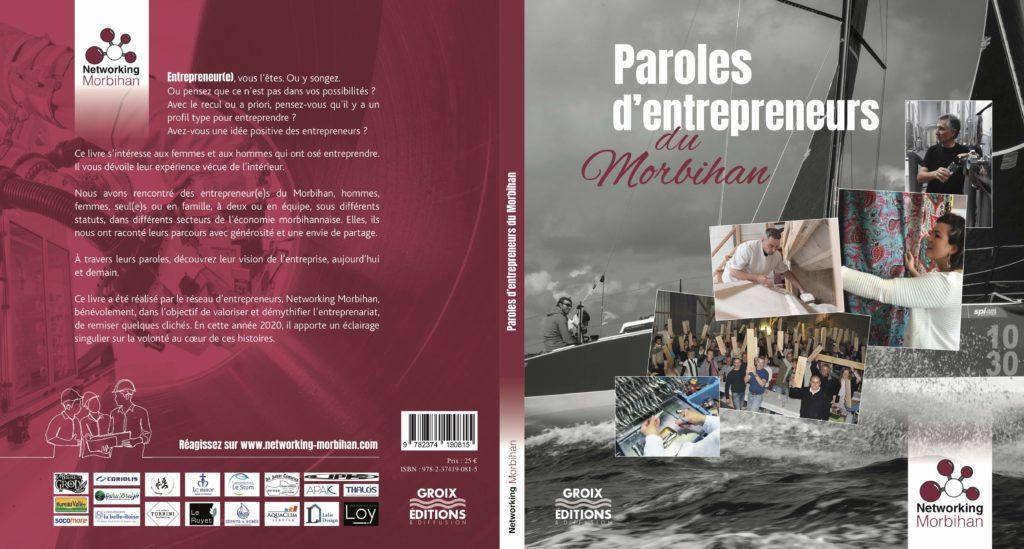 Commandez votre exemplaire de «Paroles d'entrepreneurs du Morbihan»