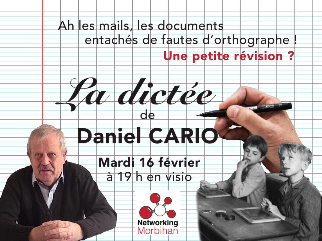 Testez-vous avec la dictée de Daniel Cario